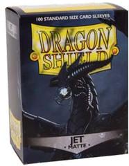 Dragon Shield Standard-size (100ct) Sleeves - Matte Jet Black