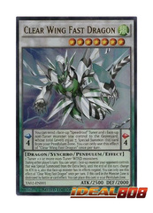 Clear Wing Fast Dragon - Ultra Rare - YA02-EN001 - Limited Edition