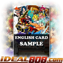 Dungeon World (Flag) [X-BT03A-UB01/S006EN SP (Gold Border FOIL)] English