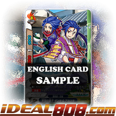 Princes from the East, Zanya & Akatsuki [X-BT03A-UB01/0054EN C (FOIL)] English