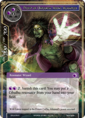 Priest of Darkness, Abdul Alhazred [CFC-076 R (Textured Foil)] English