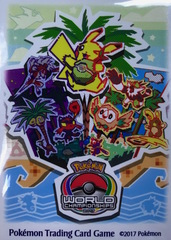 Pokemon World Championships - 65ct Sleeves - 2017 Anaheim, California
