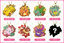 Pokemon Stained Glass BC Keychain Charm (Random/Blind Box) [#038699]