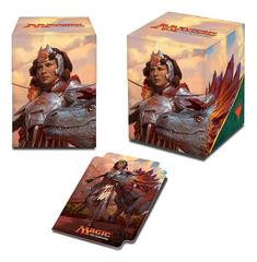 Magic the Gathering Ixalan 100+ Deck Box - Huatli, Warrior Poet (#86619)