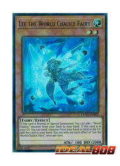 Lee the World Chalice Fairy - COTD-EN022 - Ultra Rare - Unlimited Edition