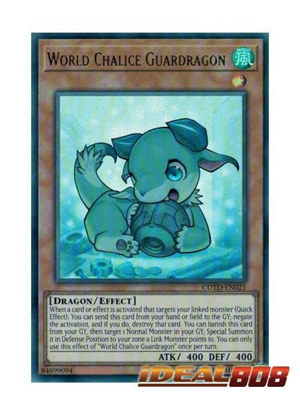 World Chalice Guardragon - COTD-EN021 - Ultra Rare - Unlimited Edition