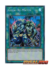 Gouki Re-Match - COTD-EN054 - Super Rare - Unlimited Edition