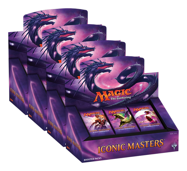 Iconic Masters Edition (IMA) Booster  Case (4 Boxes)