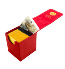 Dex Protection Small Deck Box [Red]
