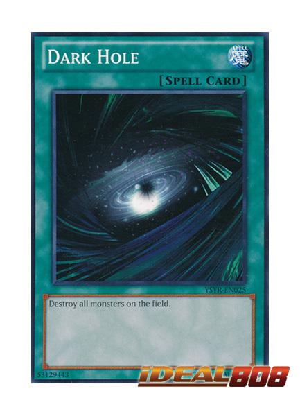 Dark Hole - YSYR-EN025 - Common - Unlimited Edition