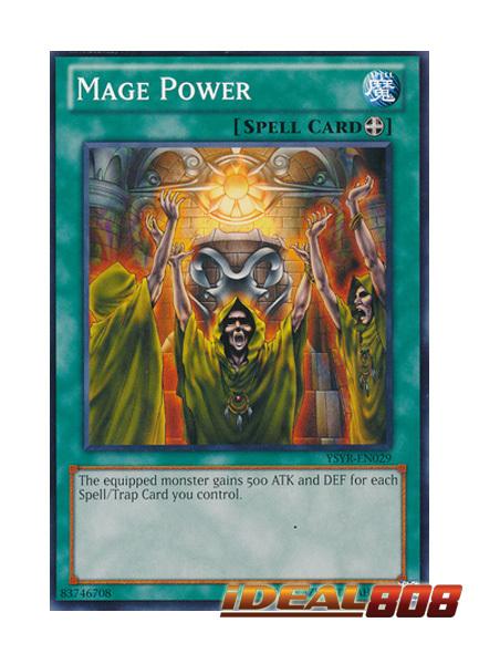 Mage Power - YSYR-EN029 - Common - Unlimited Edition