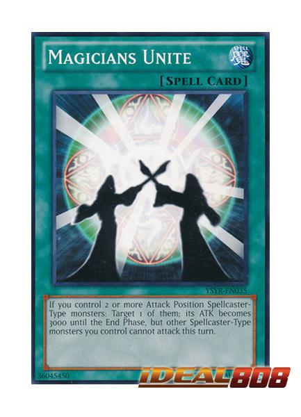 Magicians Unite - YSYR-EN035 - Common - Unlimited Edition
