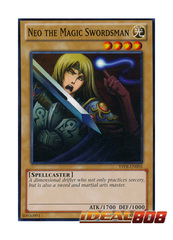 Neo the Magic Swordsman - YSYR-EN005 - Common - Unlimited Edition