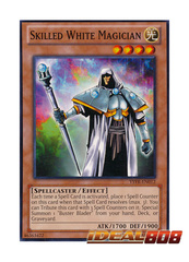 Skilled White Magician - YSYR-EN012 - Common - Unlimited Edition