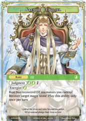 Faerur Letoliel // Faerur Letoliel, King of Wind [ACN-093 R (Full Art Ruler)] English