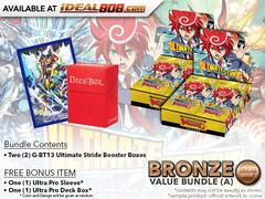 CFV-G-BT13  Bundle (A) Bronze - Get x2 Ultimate Stride Booster Box + FREE Bonus Items * PRE-ORDER Ships Dec.22