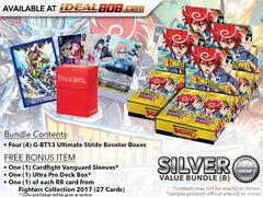 CFV-G-BT13  Bundle (B) Silver - Get x4 Ultimate Stride Booster Box + FREE Bonus Items * PRE-ORDER Ships Dec.22