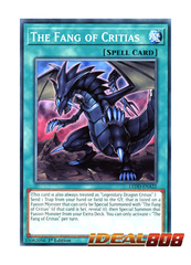 The Fang of Critias - LEDD-ENA22 - Common - 1st Edition