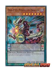 Odd-Eyes Pendulum Dragon - LEDD-ENC01 - Ultra Rare - 1st Edition