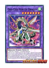 Odd-Eyes Vortex Dragon - LEDD-ENC27 - Common - 1st Edition