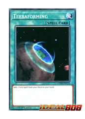Terraforming - LEDD-ENC21 - Common - 1st Edition