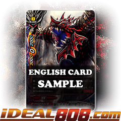 Sealed Black Crest Dragon, Elgod [X-BT03/0018 RR (FOIL)] English