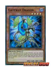 Gateway Dragon - CIBR-EN007 - Super Rare - 1st Edition