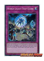 World Legacy Trap Globe - CIBR-EN074 - Super Rare - 1st Edition