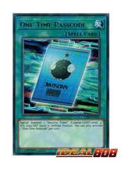 One-Time Passcode - CIBR-EN061 - Rare - 1st Edition