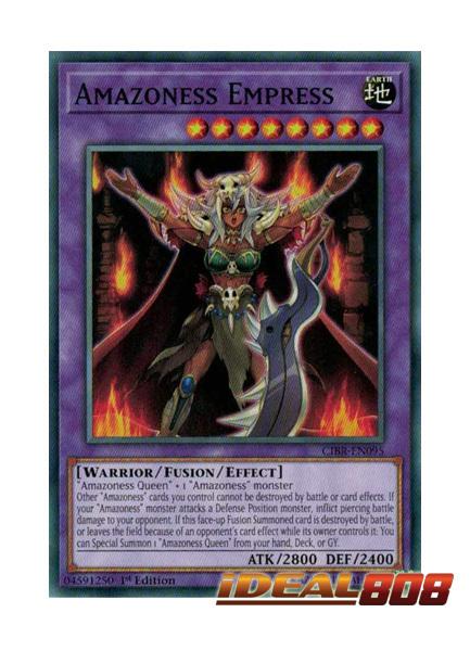 Amazoness Empress - CIBR-EN095 - Common - 1st Edition