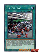 F.A. Pit Stop - CIBR-EN089 - Common - 1st Edition
