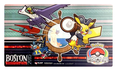 Pokemon World Championships - Playmat - 2015 Boston, Massachusetts feat.Pikachu