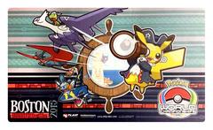 Pokemon World Championships - Playmat - 2015 Boston, Massachusetts feat.Pikachu