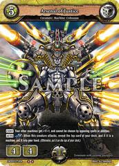 Arsenal of Justice (Regular) [DB-BT02/008 U (OO)] English