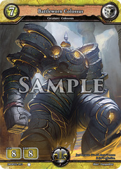 Battleworn Colossus (Foil) [DB-BT02/012 C (O)] English