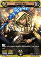 Highborn Sage (Regular) [DB-BT02/014 C (O)] English