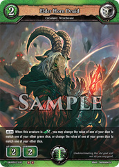 Elder Horn Druid (Regular) [DB-BT02/035 U (OO)] English