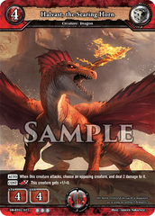 Halvast, the Searing Horn (Regular) [DB-BT02/077 R (OOO)] English