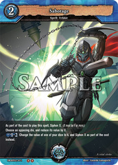 Sabotage (Foil) [DB-BT02/071 U (OO)] English