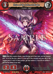 Hrist of the Infernal Blades (Foil) [DB-BT02/074 RR (OOOO)] English