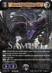 Sennes, Lord of the Rampage (Foil) [DB-BT02/097 RR (OOOO)] English