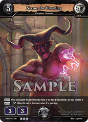 Necros, the Unending (Foil) [DB-BT02/100 R (OOO)] English
