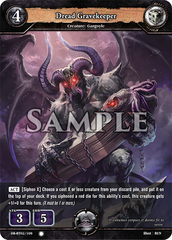 Dread Gravekeeper (Foil) [DB-BT02/109 C (O)] English
