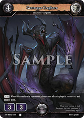 Grotesque Cragborn (Foil) [DB-BT02/110 C (O)] English