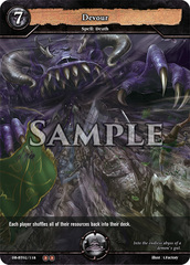Devour (Foil) [DB-BT02/118 U (OO)] English