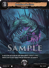Back from the Grave (Foil) [DB-BT02/120 C (O)] English