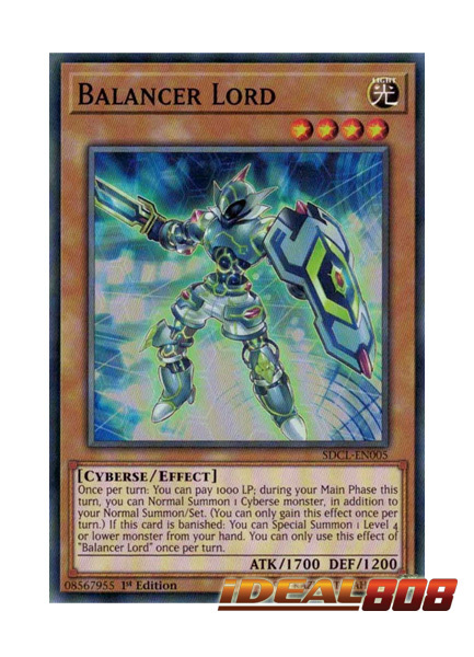Balancer Lord - SDCL-EN005 - Common - 1st Edition