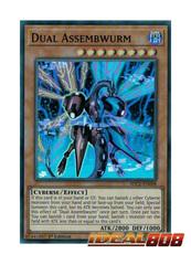 Dual Assembwurm - SDCL-EN008 - Super Rare - 1st Edition