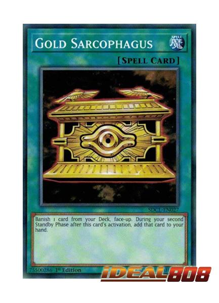 Gold Sarcophagus - SDCL-EN027 - Common - 1st Edition