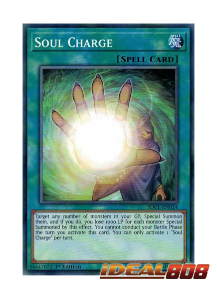 Soul Charge - SDCL-EN024 - Common - 1st Edition